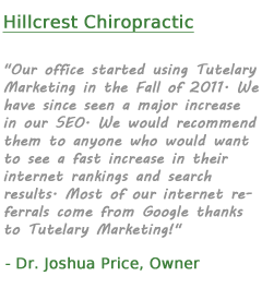 hillcrest-chiropractic-clarksville-local-seo-testimonial